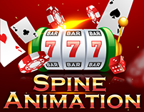 Spine Animation for slot