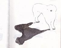 sketchbook, Republic of Moldova, autostop, 2014