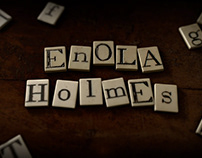 Enola Holmes // Titles & Graphic Sequences
