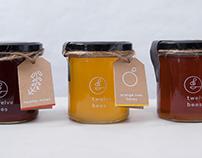 twelve bees Honey