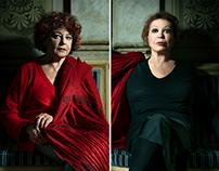 Ludovica Modugno + Paila Pavese: portraits