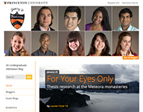 Speaking of... Princeton University Admissions Blog