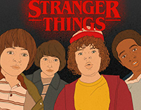 "Illustration of ""Stranger Things"""