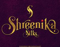 SHREENIKA SILKS | LOGO DESIGN