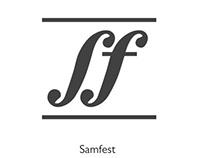 Logo - Samfest(music festival)