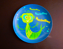A Child's Fiji Mermaid Plate