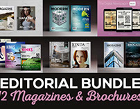 Editorial Bundle - Magazines & Brochures