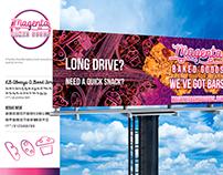 Identity + Billboard Design for Family Friendly Bakery