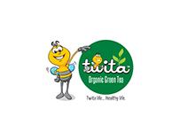 Package Design for Twita Organic Green Tea