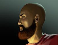 Paleolithic selfportrait