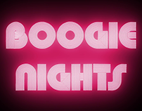 Intro: Boogie Nights.