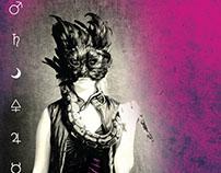 Flyer for Denver burlesque show