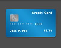 Daily UI - 002 Credit Card