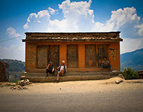 People of Okarpouwa, Nuwakot, Nepal