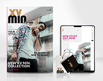 Fashion Branding and Webdesign - XVmin. of Fame
