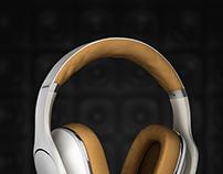 Headphones // Cascos Samsung Level Over - CGI