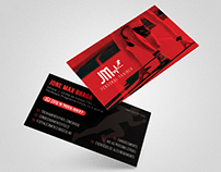 Cartão de Visita - Jone Max Braga - Personal Trainer
