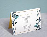 Wedding brand desifn