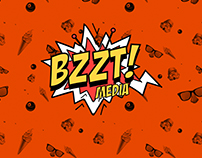 BZZT! MEDIA YOUTUBE CHANNEL LOGO DESIGN