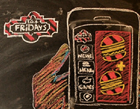 TGI Fridays Greece - Instagram Illustrations