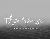 THE MONSE - FREE HANDMADE CALLIGRAPHY FONT
