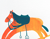 Childhood - Rocking Horse Prints