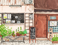 Storefronts of Tokyo