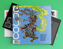 COLOR Skateboarding Magazine Editorial Design.