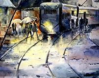 Brush Strokes: Watercolors