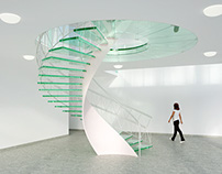 The visualisation of a Staircase