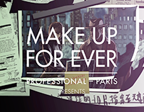 Make Up For Ever 女間諜篇 廣告片頭
