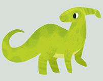 Procreate:Parasaur