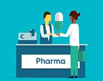 Pharmacy - Illu and icons