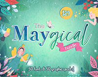 The May-gical Bundle By ThehungryJPEG