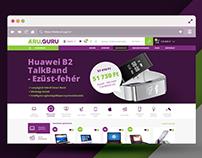 ÁRU.GURU - RWD & branding