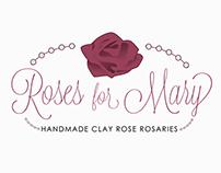 Roses for Mary Logo Design