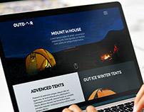 Outdoor Responsive Website