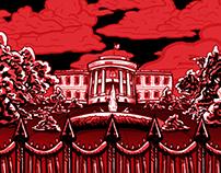 Red Storm Over Washington