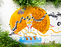 Street Art. Bali.