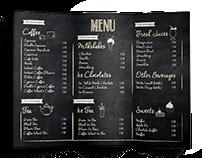 Coffee Island- Menu Rebrand/Redesign Christina Filippou