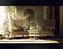 3D interior : Royal Palace