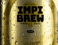 IMPI Beer Packaging