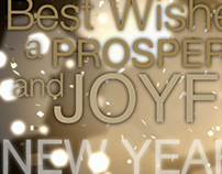 After Effects New Year Card