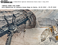 Exhibition in Paris, AERIAL VIEWS COAL MINE