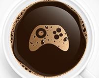 Coffee, Casuals & Consoles Logo