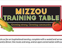 Mizzou Training Table
