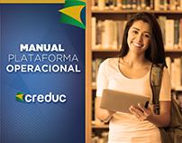 Criação de Manual digital / Diagramação - Creduc E+B