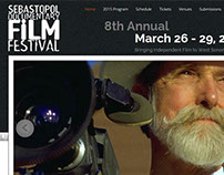 Documentary Film Festival Website Design