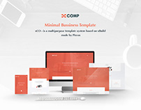 xCO- Minimal Business Template