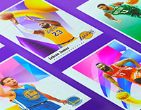 NBA SUPERSTARS | Poster Series